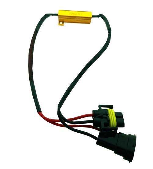 Grootlicht H10 canbus kabel 50w