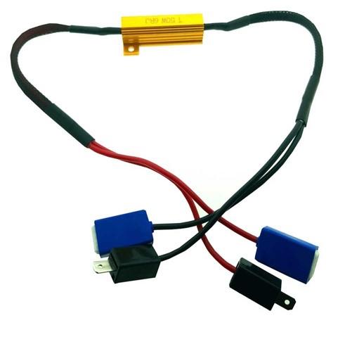 Grootlicht H1 canbus kabel 50w