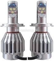 H4 Canbus LED ombouwset 5700k wit-1
