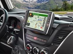 """Alpine X902D-ID - 9"""" Alpine Style Navigatiesysteem voor Iveco Daily"""