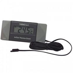 Digitale Thermometer met klok - Binnen-/Buitentemperatuur