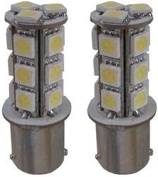 LED knipperlicht BAu15s 18 SMD Oranje