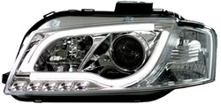 LED koplamp unit Audi A3 (8P) Chrome
