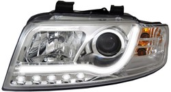 LED koplamp unit Audi A4 (B6) Chrome