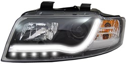 LED koplamp unit Audi A4 (B6) Black