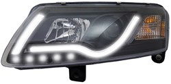 LED koplamp unit Audi A6 (4F) Black