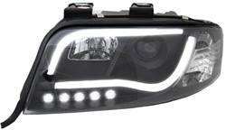 LED koplamp unit Audi A6 (C5 FL) Black