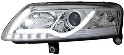 LED koplamp unit Audi A6 (4F) Chrome