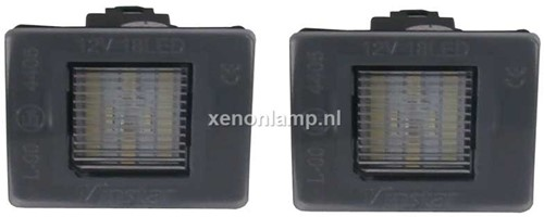 Mercedes Benz LED kentekenverlichting unit-1