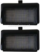 Mercedes ML W164 LED kentekenverlichting unit-1