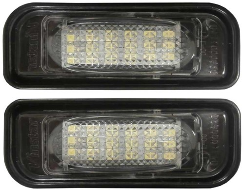 Mercedes W220 LED kentekenverlichting unit - canbus versie