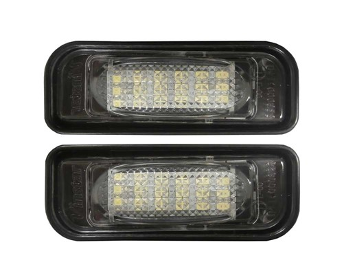 LED kentekenverlichting unit - canbus versie geschikt voor Mercedes W220