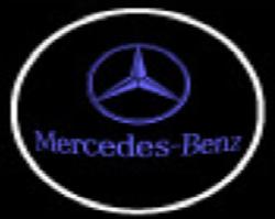 LED deur logo Mercedes 2