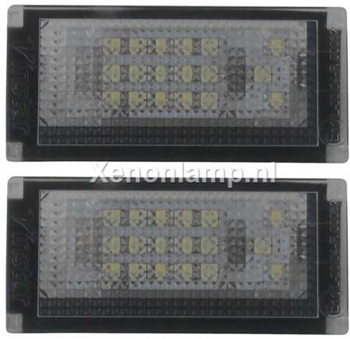 Mini Cooper R50 - R52 - R53 LED kenteken unit-1