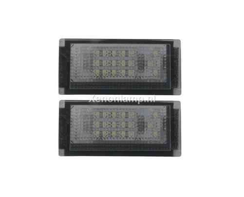 LED kenteken unit geschikt voor Mini Cooper R50 - R52 - R53
