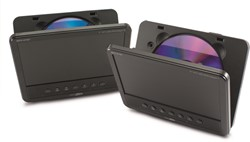 "Caliber Portable DVD 7"""" Twin player"