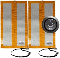 ParkSafe Elite Silver-Range Universele Stoelverwarming (Carbon)