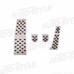 Pedalen set BMW 5/6-Serie M/T (E60/E61/E63/E64/M6)