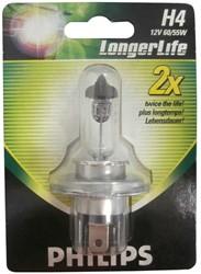 Philips Longerlife x2 Blister - H4 12342LL