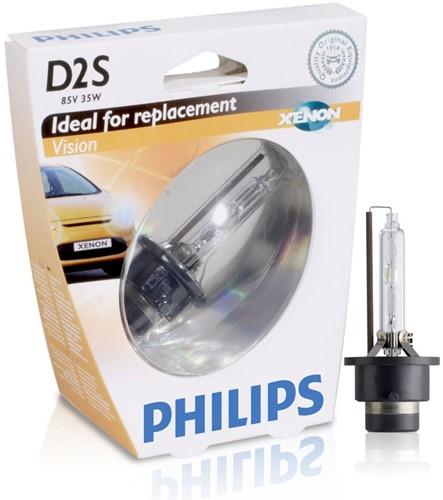 Philips Xenon Vision D2S 4600k - 85122VIS1-1