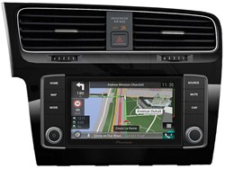 Pioneer NavGate EVO VW Golf 7 Piano Black