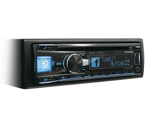 Alpine CDE-195BT - CD-Receiver met BT