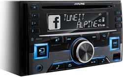 Alpine CDE-W296BT - 2 DIN CD-Receiver met BT