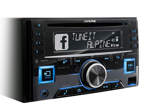 Alpine CDE-W296BT - 2 DIN CD-Receiver met BT
