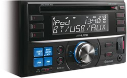 Alpine CDE-W235BT - 2 DIN CD-Receiver met BT