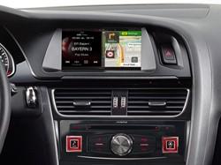 "Alpine X701D-A4 - 7"""" Alpine Style Navigatie voor Audi A4/A5"
