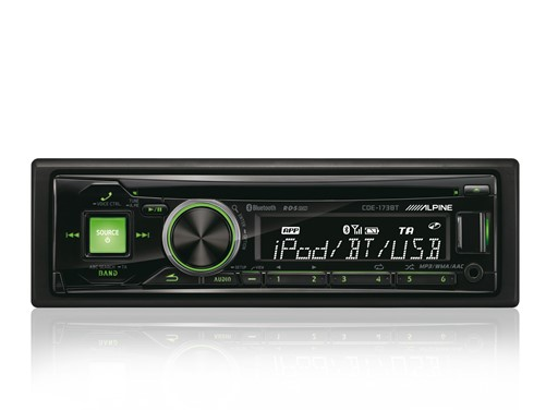 Alpine CDE-173BT - CD-Receiver-2