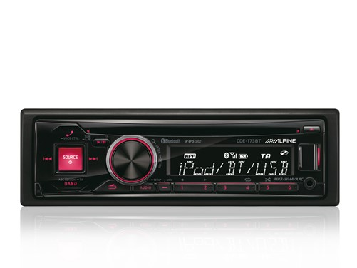 Alpine CDE-173BT - CD-Receiver-3