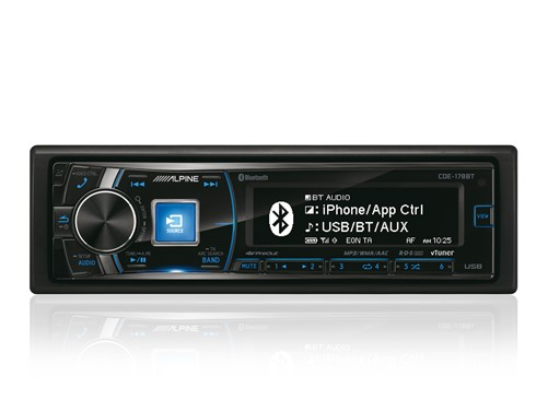 Alpine CDE-178BT - CD-Receiver  met BT-2