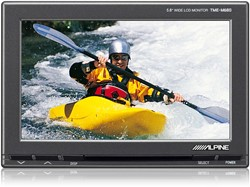 Alpine TME-M680 - 5.8'' Breedbeeldmonitor met blackbox