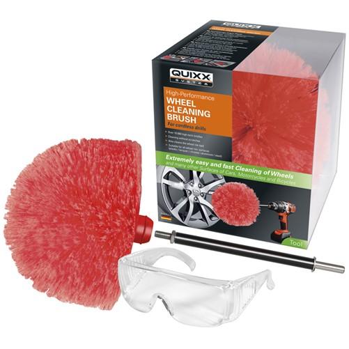 Quixx Wheel Cleaning Brush / Wielborstel voor mechanische aandrijving