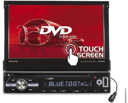 "DVD/USB/MP4/AUX IN/BT/Touch 7"""" Motorized"