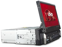 "Caliber DVD/USB/MP4/AUX IN/BT/Touch 7"""" Motorized-3"