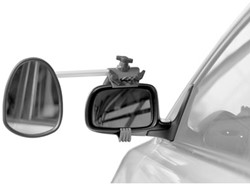 Repusel Alufor, Vlak Glas, Korte Arm. Geschikt voor caravans NIET breder dan 2.30mtr