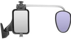 Repusel Luxmax Vlak Glas, Lange Arm. Geschikt voor caravans breder dan 2.30mtr