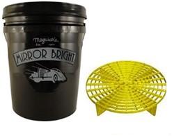 Mirror Bright Bucket + Grit Guard Diameter 36,5cmmm