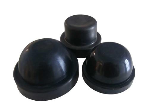 Rubber behuizing kap 55mm