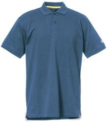 CAT Polo-Shirt, Classic-Cotton, niagara-blauw