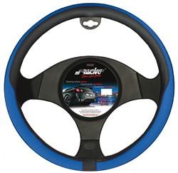 Simoni Racing Stuurwielhoes Tidy - 37-39cm - Zwart/Blauw