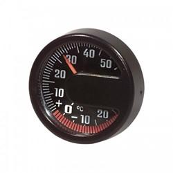Analoge Buitentemperatuurmeter - Rond - Zwart - Ø 43mm