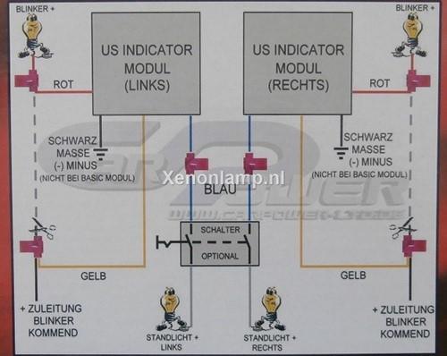 USA Style Blinker module-3