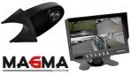 Complete set camera MA-KV-200 bus en 7 inch quad scherm/20 meter kabel