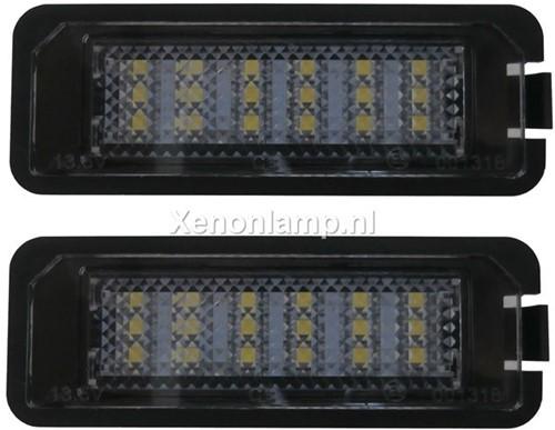 VW Golf 5, 6, 7 en VW Scirocco Canbus LED kenteken verlichting unit-1