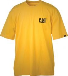 CAT T-Shirt LOGO, geel