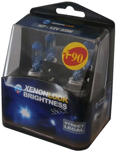 Xenonlook Plus 90% 3300k H7